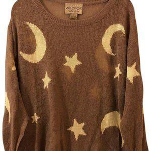 Wildfox White Label Rare Night Owl Lennon Sweater